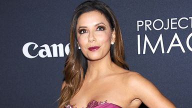"""PHOTO: Eva Longoria attends Canons """"Project Imaginat10n"""" Film Festival opening night at Alice Tully Hall at Lincoln Center, Oct. 24, 2013, in New York."""