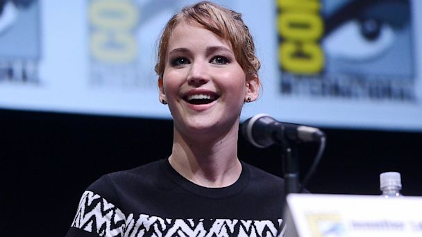 PHOTO: Jennifer Lawrence at Comic-Con in San Diego