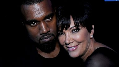 PHOTO: Kris Jenner and Kanye West