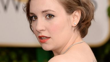 PHOTO: Actress Lena Dunham attends the 71st Annual Golden Globe Awards held at The Beverly Hilton Hotel on Jan. 12, 2014 in Beverly Hills, Calif.