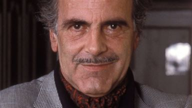 """PHOTO: Maximilian Schell poses for a portrait session on Jan. 9, 1986, to promote his NBC miniseries """"Peter the Great."""""""