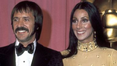 PHOTO: Sonny Bono And Cher at the Academy Awards, March 1973.