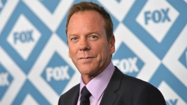 PHOTO: Kiefer Sutherland arrives to the 2014 Fox All-Star Party, Jan. 13, 2014, in Pasadena, Calif.