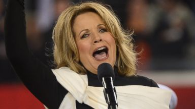PHOTO: Opera singer Renee Fleming performs the National Anthem during the Pepsi Super Bowl XLVIII Pregame Show at MetLife Stadium, Feb. 2, 2014 in East Rutherford, N.J.