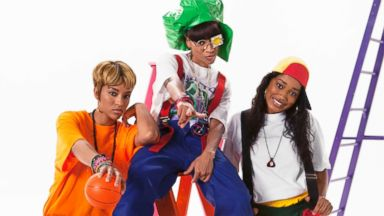 """PHOTO: Lil Mama, Keke Palmer and Drew Sidora in the """"CrazySexyCool: The TLC Story"""" biopic."""