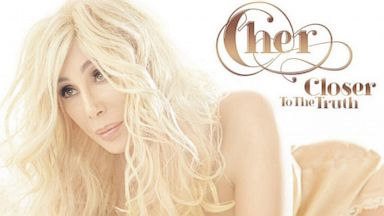 """PHOTO: Cher posted the new cover art for her album """"Closer To The Truth"""" to Twitter"""