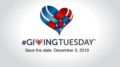 PHOTO: We had Black Friday and Cyber Monday. Now its #GivingTuesday.