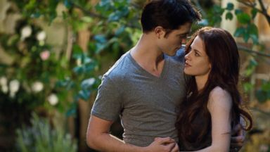 PHOTO: From left, Robert Pattinso and Kristen Stewart in The Twilight Saga: Breaking Dawn - Part 2.
