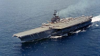 PHOTO: The USS Forrestal is seen in the undated Navy photo.
