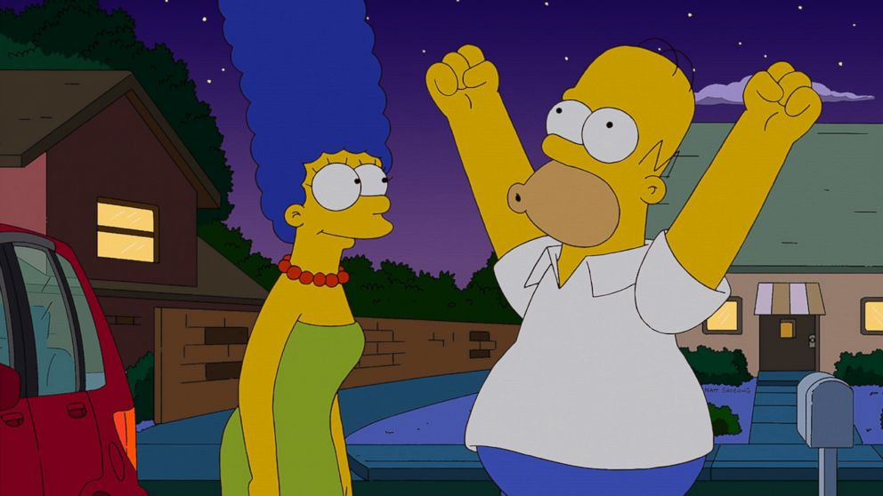 'The Simpsons' to Feature Live Segment With Homer - ABC News