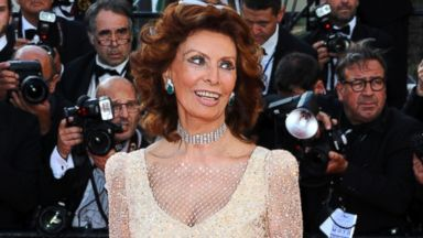 "PHOTO: Sophia Loren attends the ""Voce Umana"" premiere at the 67th Annual Cannes Film Festival on May 20, 2014 in Cannes, France."