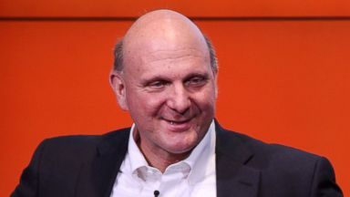 PHOTO: Steve Ballmer speaks at the opening of the Microsoft Center Berlin on Nov. 7, 2013 in Berlin, Germany.