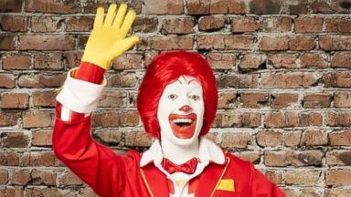 PHOTO: Ronald McDonalds new threads.