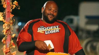 """Ruben Studdard is seen on the Nov. 5 episode of the """"The Biggest Loser""""."""