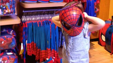 "PHOTO: Actress Tiffani Thiessen posted this photo on Twitter and Whosay with the caption, ""My little spidergirl"" on August 4, 2013."