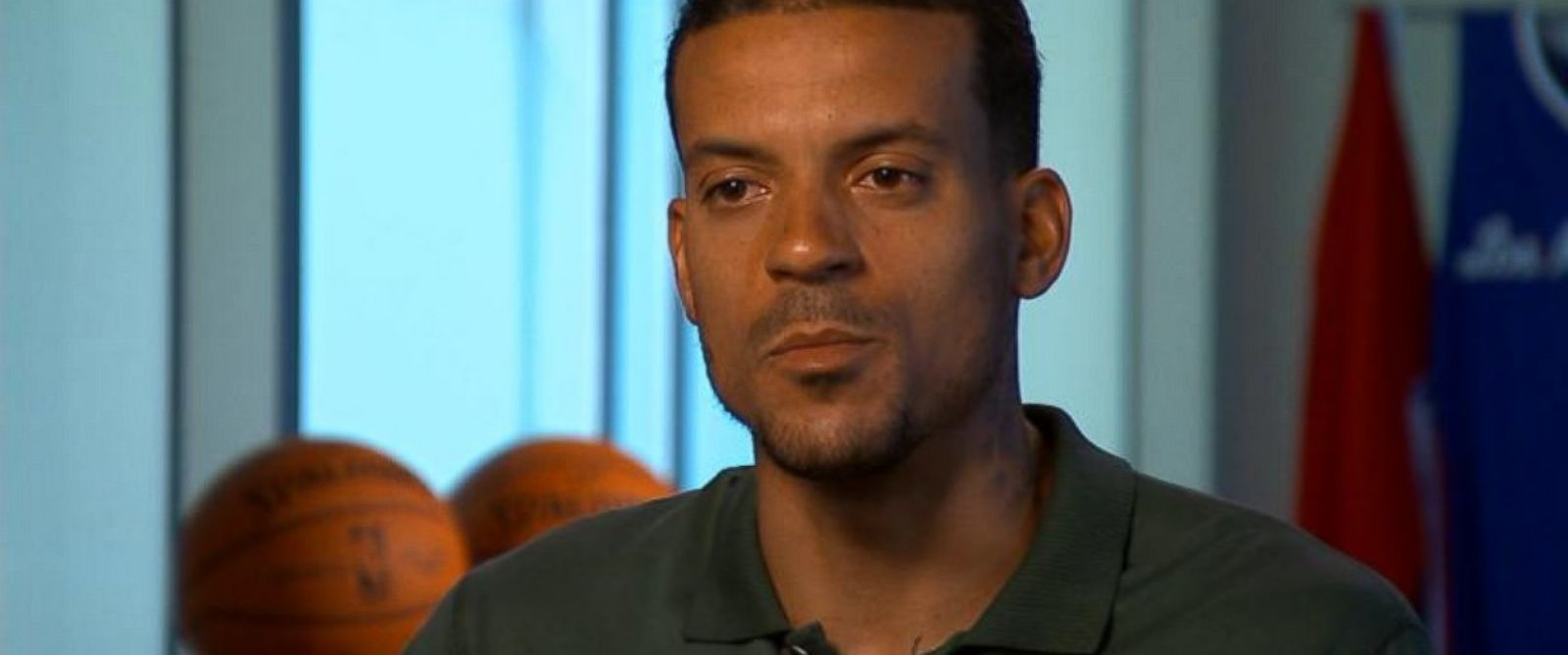 PHOTO: Los Angeles Clippers player Matt Barnes has turned to social media to track down the man suspected in his aunts death.