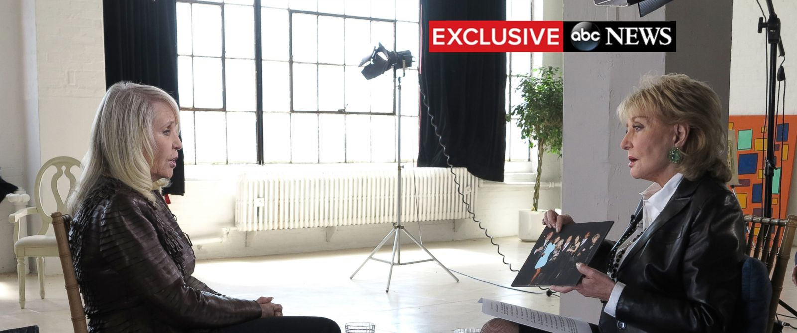 PHOTO: Shelley Sterling appears in an ABC News exclusive interview with Barbara Walters on May 11, 2014.
