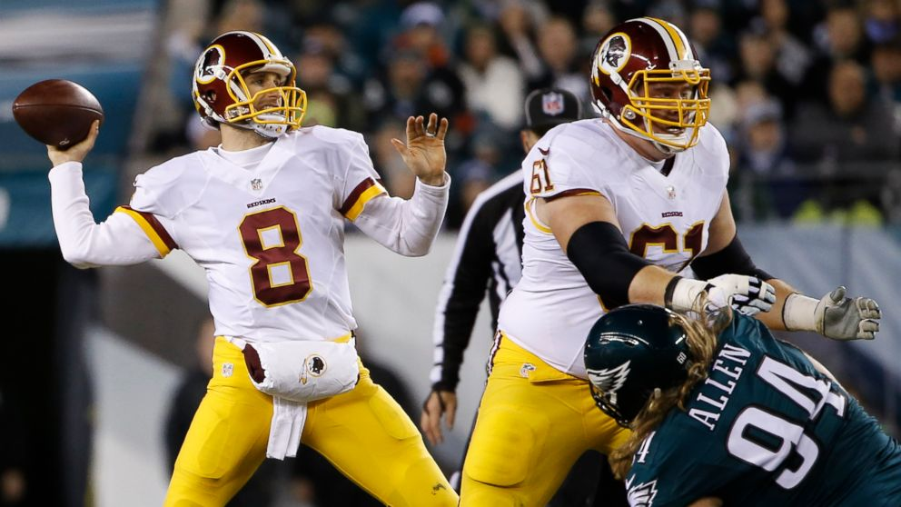 Kirk Cousins Throws 4 TD Passes, Redskins Beat Eagles 38-24 - ABC News