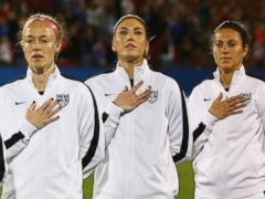 US women's team files wage-discrimination action vs. US Soccer