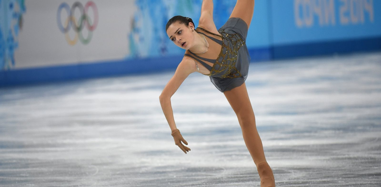 PHOTO: Adelina Sotnikova of Russia performs in the womens figure skating free program at the Iceberg Skating Palace during the Sochi Winter Olympics, Feb. 20, 2014.