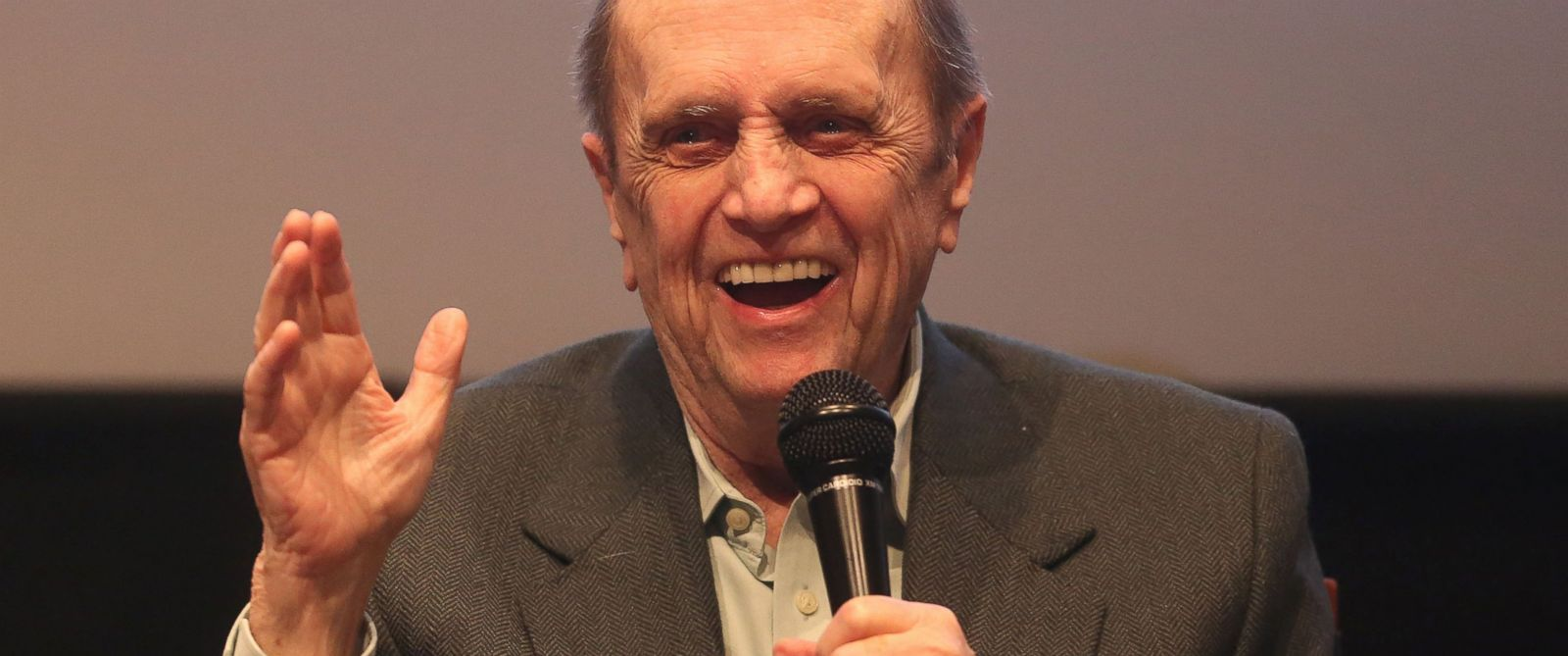 """PHOTO: Bob Newhart speaks during """"The Big Bang Theory"""" Special Screening and Panel Discussion"""