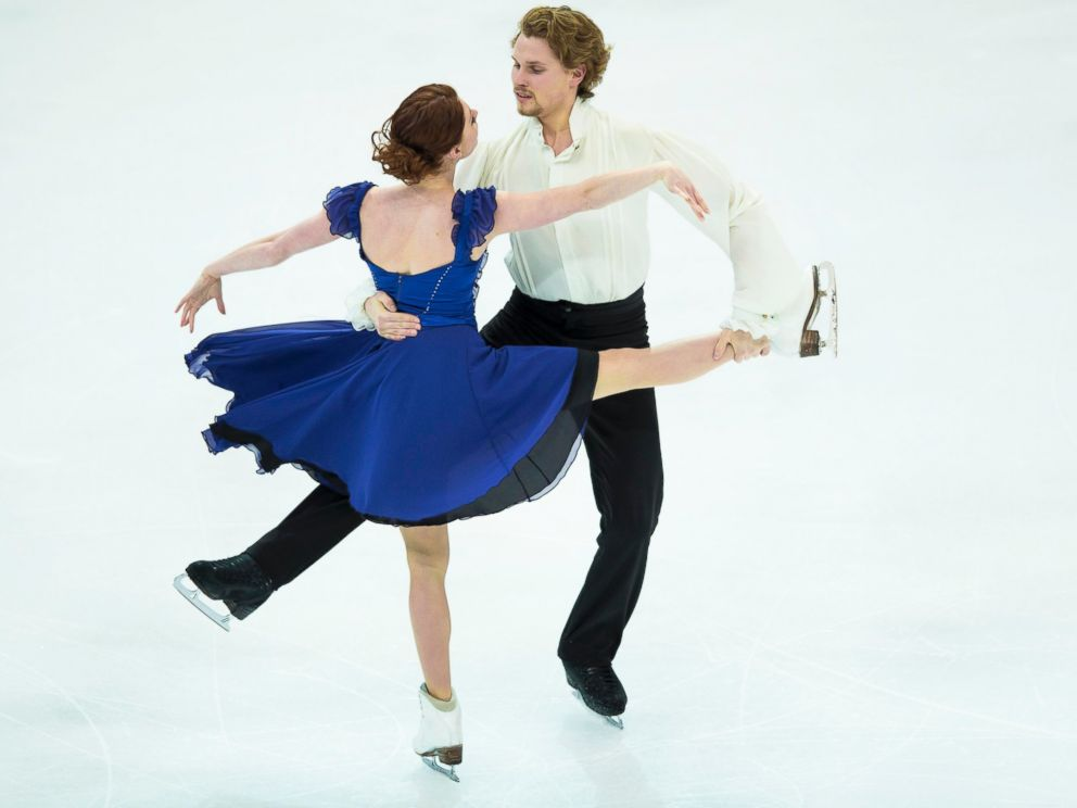 PHOTO: Nicole Orford and Thomas Williams of Canada perform their routine at the Ice Dance Free Dance event at the Four Continents Figure Skating Championships, Jan. 23, 2014, in Taipei, Taiwan.