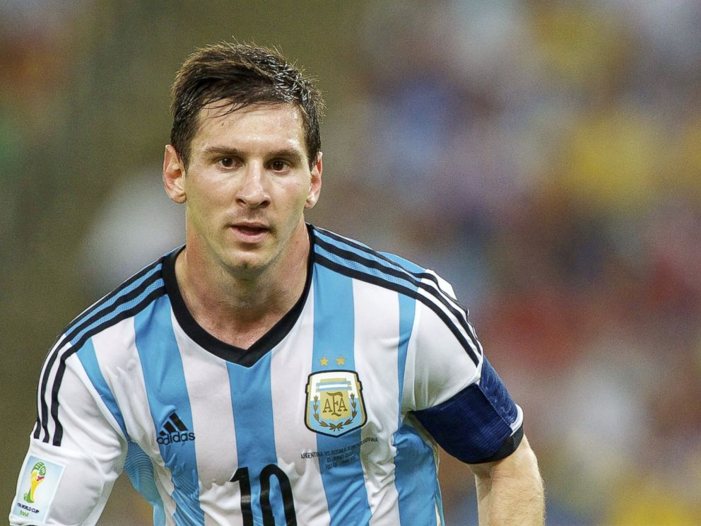 PHOTO: Lionel Messi of Argentina during the FIFA World Cup 2014 match between Argentina and Bosnia and Herzegovina on June 15, 2014 at the Maracano in Rio de Janeiro, Brazil.