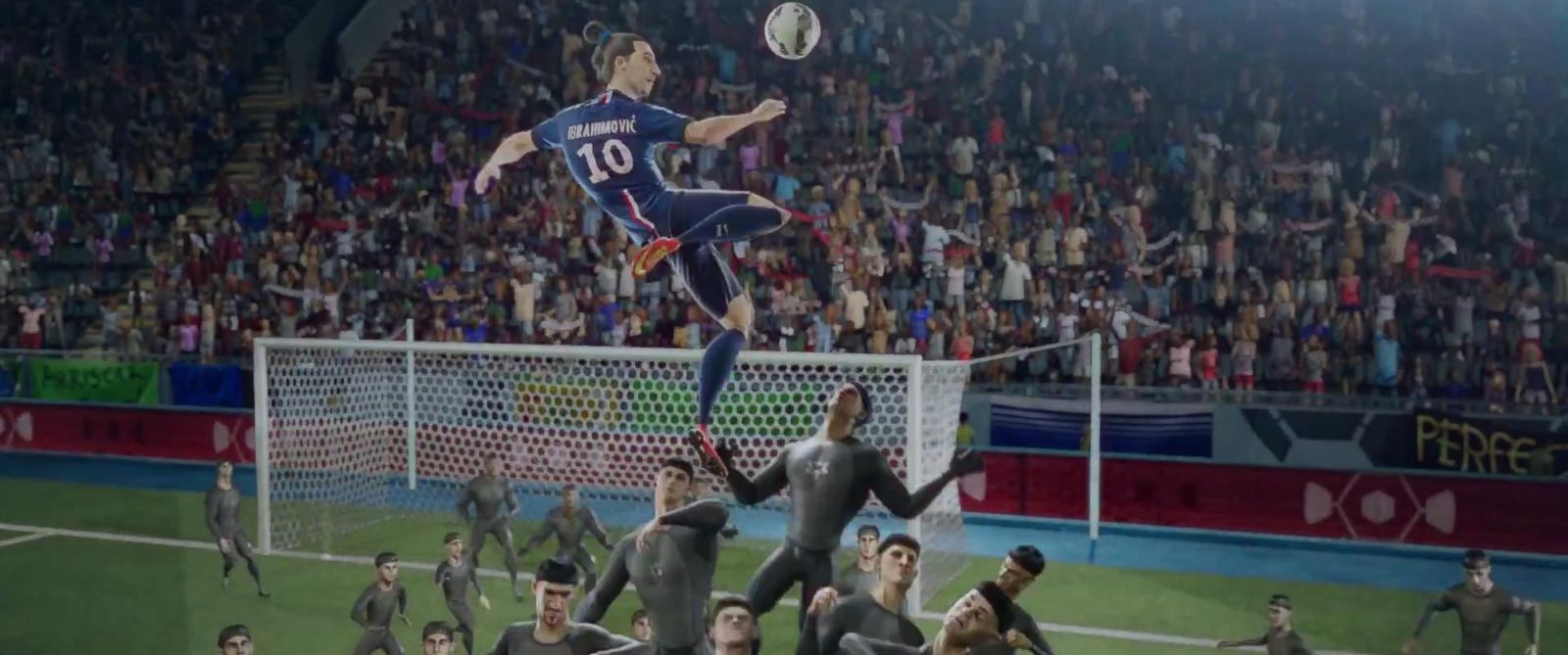 "PHOTO: Nikes ""The Last Game"" commercial features animated versions of Cristiano Ronaldo and others"