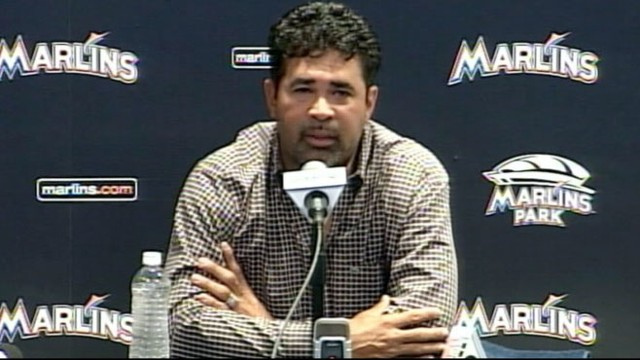 VIDEO: Miami Marlins coach Ozzie Guillen apologizes for comments he made about Fidel Castro.