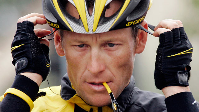PHOTO: Lance Armstrong prepares for the final stage of the Tour of California cycling race in Rancho Bernardo, Calif., Feb. 22, 2009.