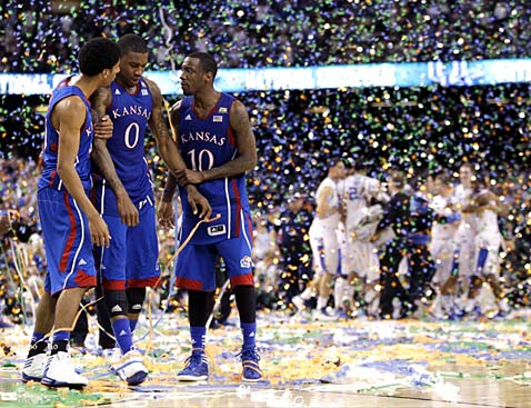 ap new orleans ncaa basketball ll 120403 wblog Today in Pictures: Russian Dance, Kansas Falls, Rescued Pit Bulls