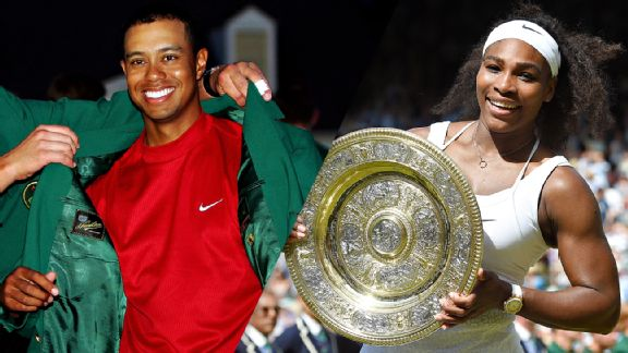serena williams  tiger woods and racial identity in sports