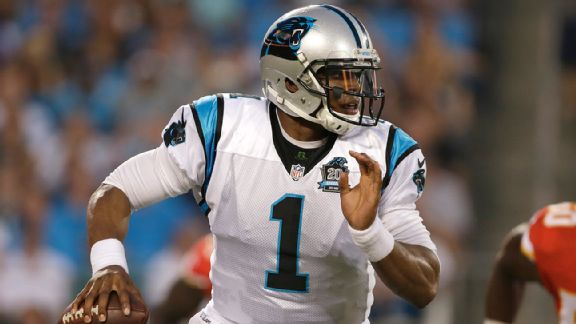Carolina Panthers, Cam Newton