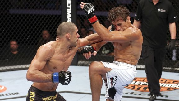 Renan Barao and Urijah Faber square off Saturday in the highly anticipated UFC 169.