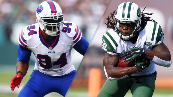 Mario Williams, Chris Ivory