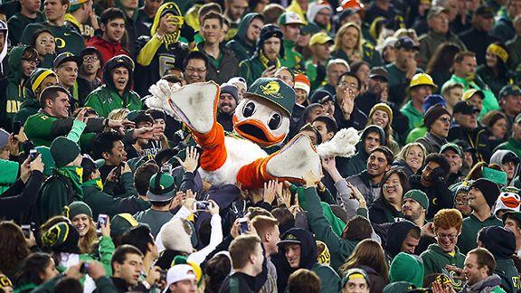 Puddles and Oregon fans