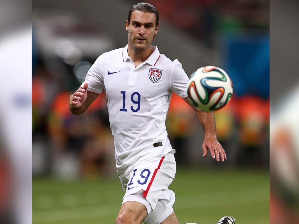 PHOTO: Graham Zusi of the United States controls the ball World Cup match between the United States and Portugal on June 22, 2014 in Manaus, Brazil.