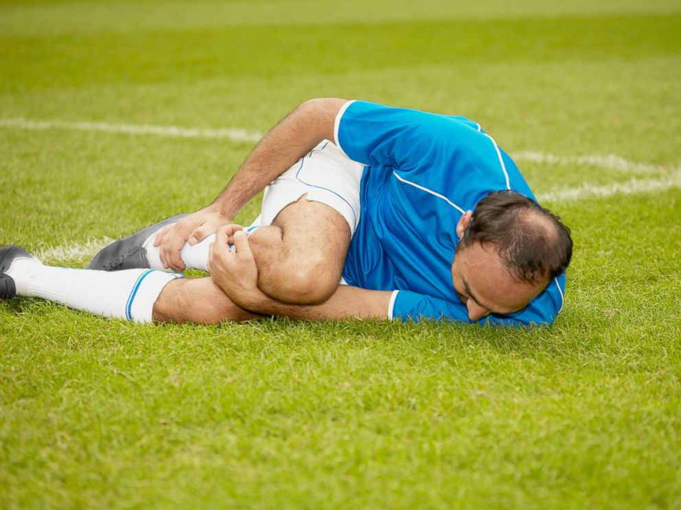 PHOTO: An injured soccer player is seen in this undated stock photo.