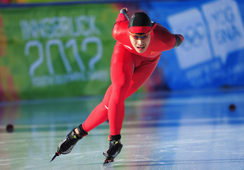 gty winter games speed skater thg ss 120116 wblog Today in Pictures: Jan. 16, 2012