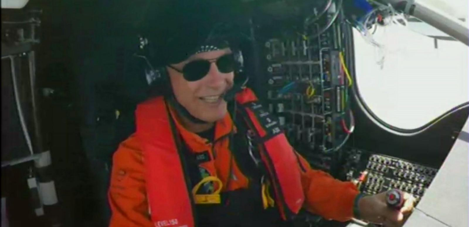 VIDEO: Interview With Solar Impulse Pilot