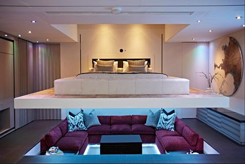 2 yo home bed living room ll 121121 wblog Yo! Home: The Convertible Apartment