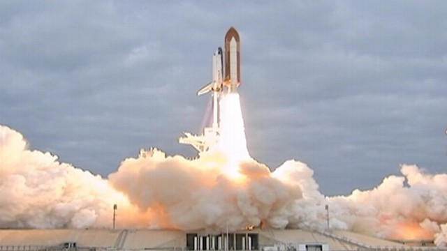 VIDEO: First launched in 1992, Endeavour leaves Earth for its final flight.