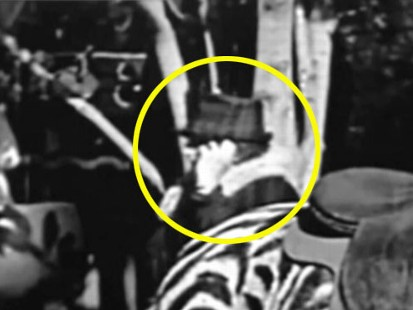 VIDEO: Some say a 1928 Charlie Chaplin film shows a woman using a cell phone.