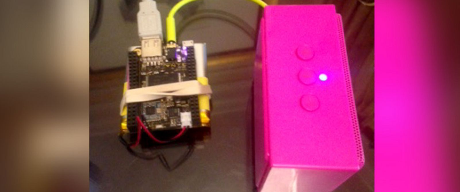 PHOTO: Chip is a $9 computer that can be used to build new projects.