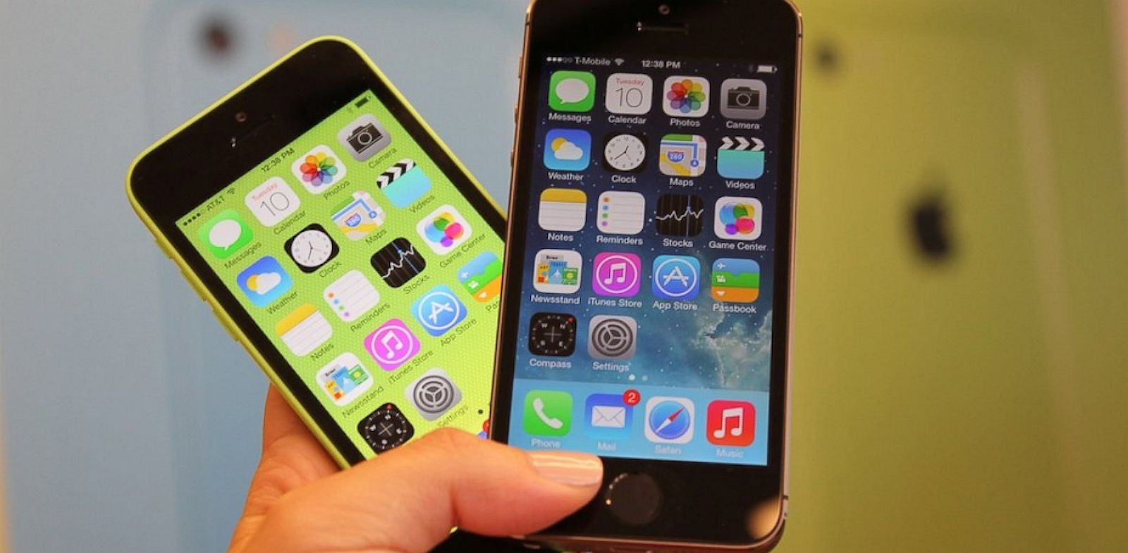 PHOTO: iPhone 5S & C