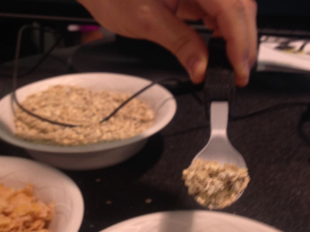 PHOTO: Spun is a smart utensil that lets you know the macronutrients in every bite you take