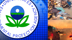 EPA finds greenhouse gases pose a danger to health; first step to climate change regulations
