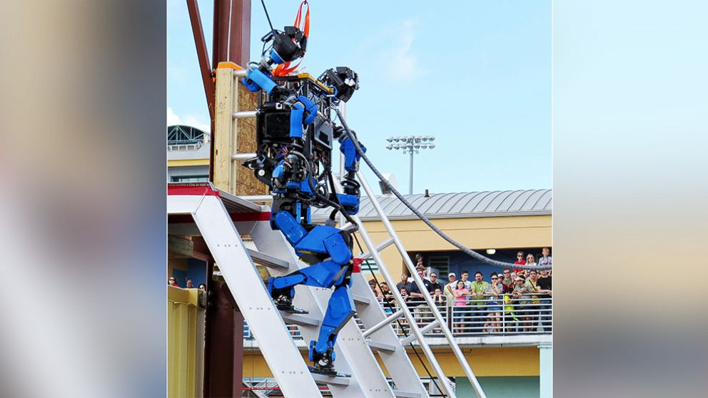 Good Morning America Robot : Find out who clinched gold at the robot olympics abc news