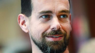 PHOTO: Jack Dorsey, on the floor of the New York Stock Exchange on Nov. 19, 2015.