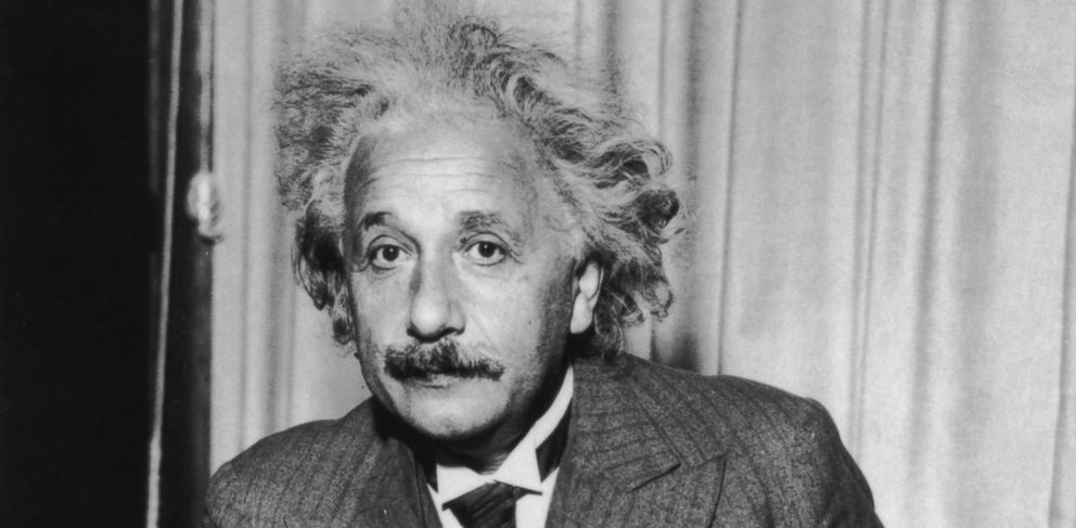 PHOTO: A portrait of physicist Albert Einstein, is seen in this 1933 file photo.